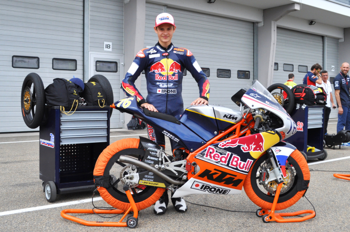 Макар Юрченко на 5 и 6 этапе Red Bull MotoGP Rookies Cup